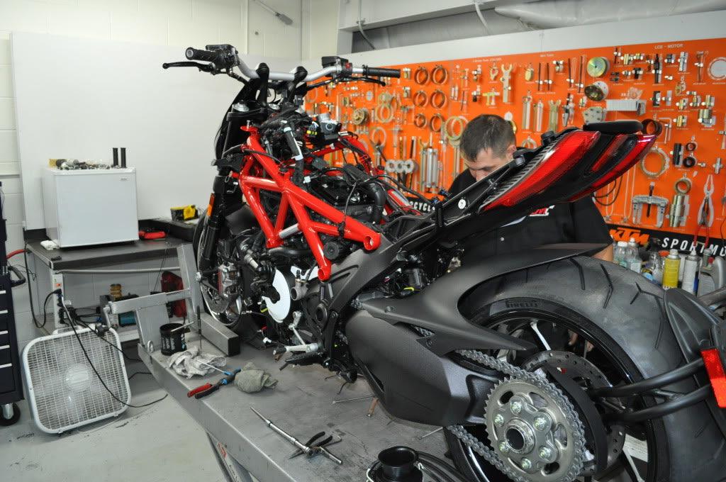 Кузовной ремонт мототехники