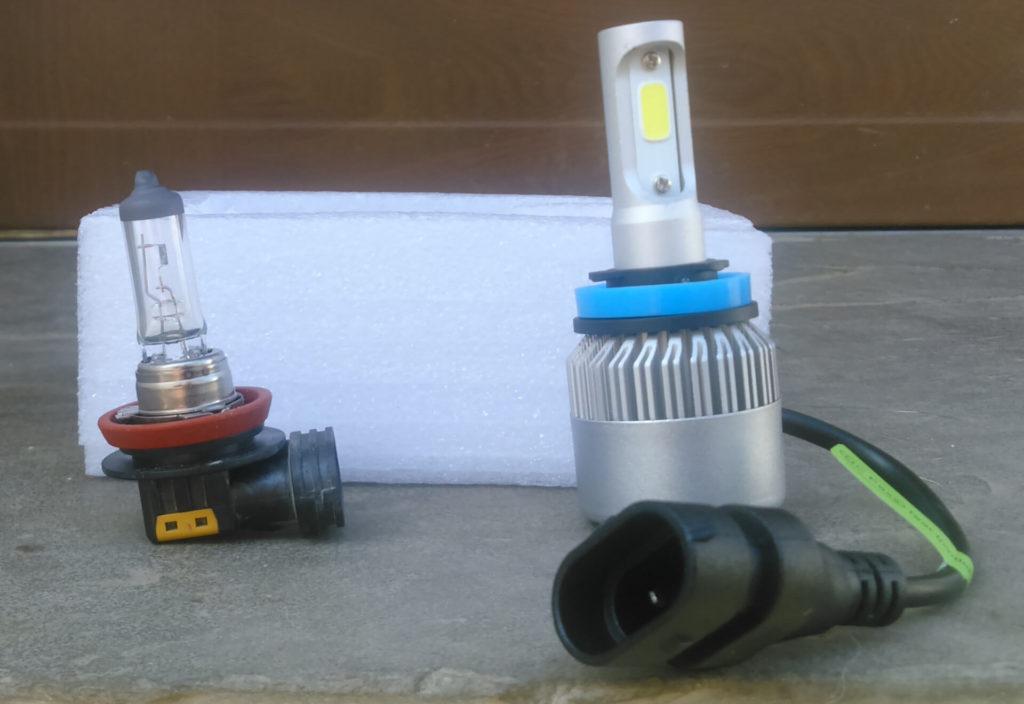 Лампы в противотуманные фары