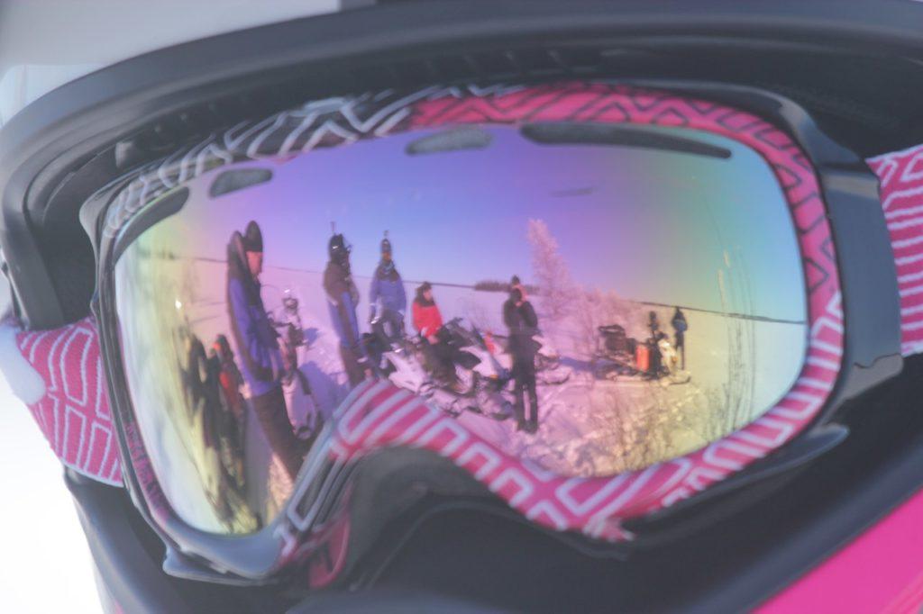 Очки для езды на снегоходе