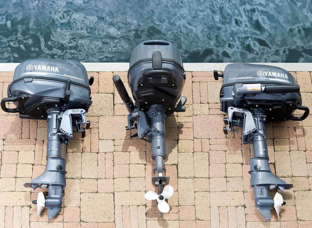 2-тактные и 4-тактные подвесные лодочные моторы